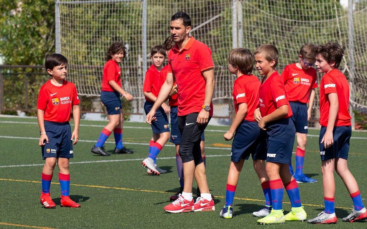 Compartint la passió pel futbol