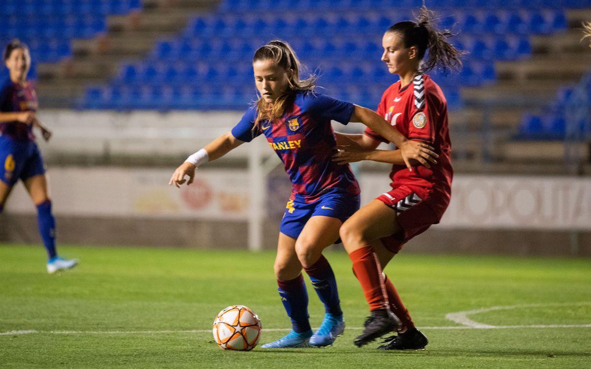 Claudia Pina, cedida al Sevilla