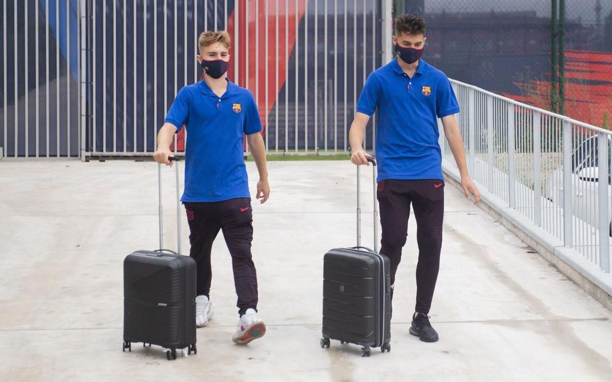 El Barça B se desplaza hacia Málaga