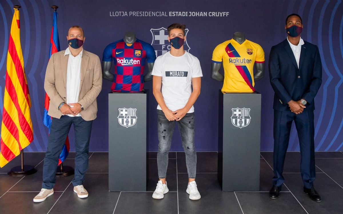 Fabián Luzzi se incorpora al Barça