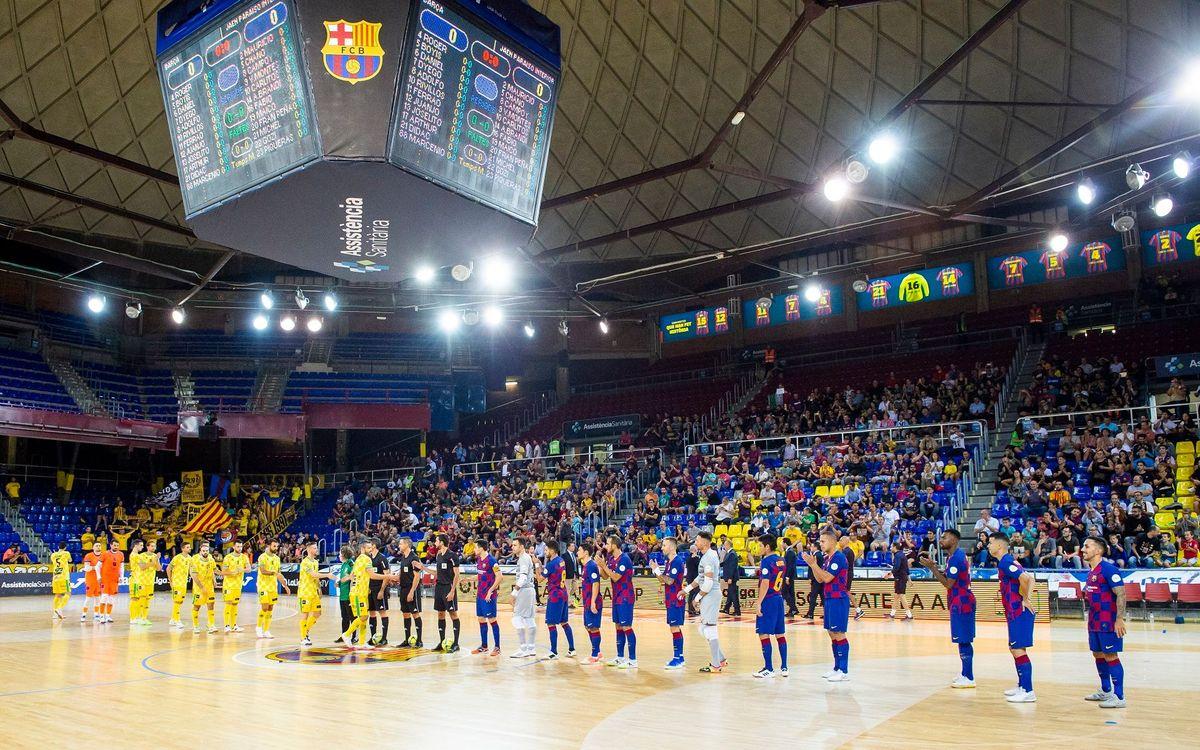 La liga de fútbol sala comenzará el 5 de septiembre