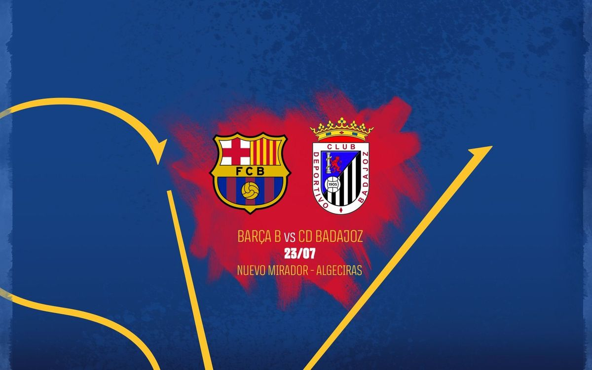Barça B v Badajoz, in the second round of the Promotion Play-off