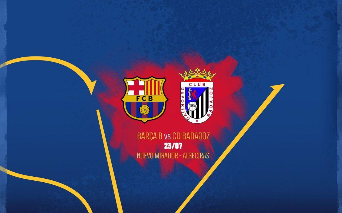 Barça B – Badajoz, a la segona eliminatòria del Play-off d'ascens