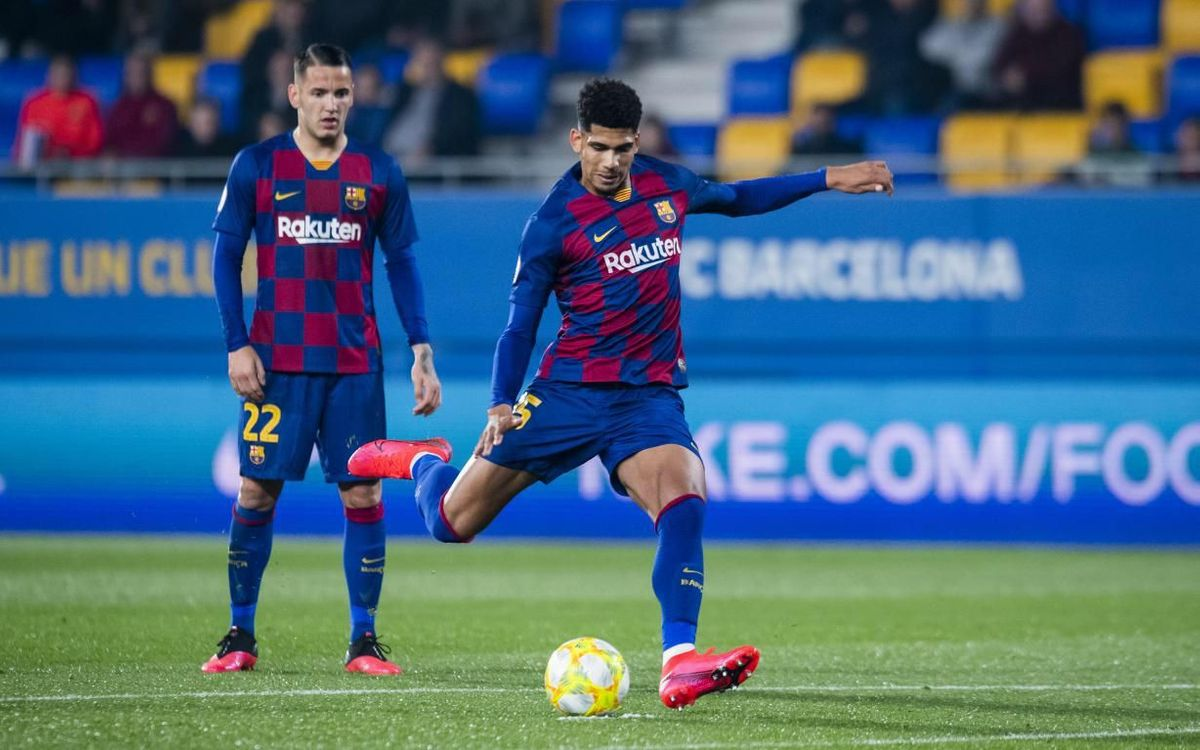 Ronald Araujo to join Barça B for promotion play-off