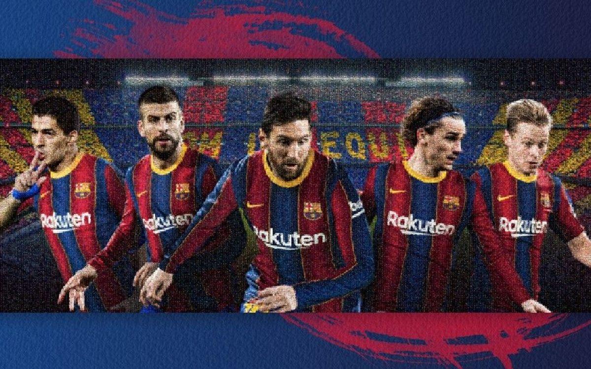 El Barça y Rakuten invitan a los fans a ser parte de la fachada del Camp Nou