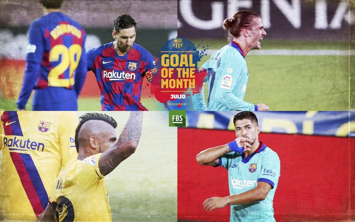 Vota el 'Goal of the Month' del mes de julio