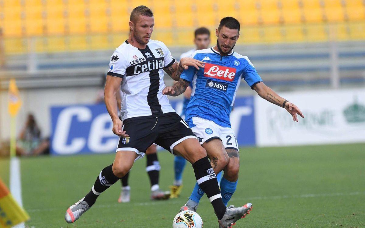 Napoli's streak is broken