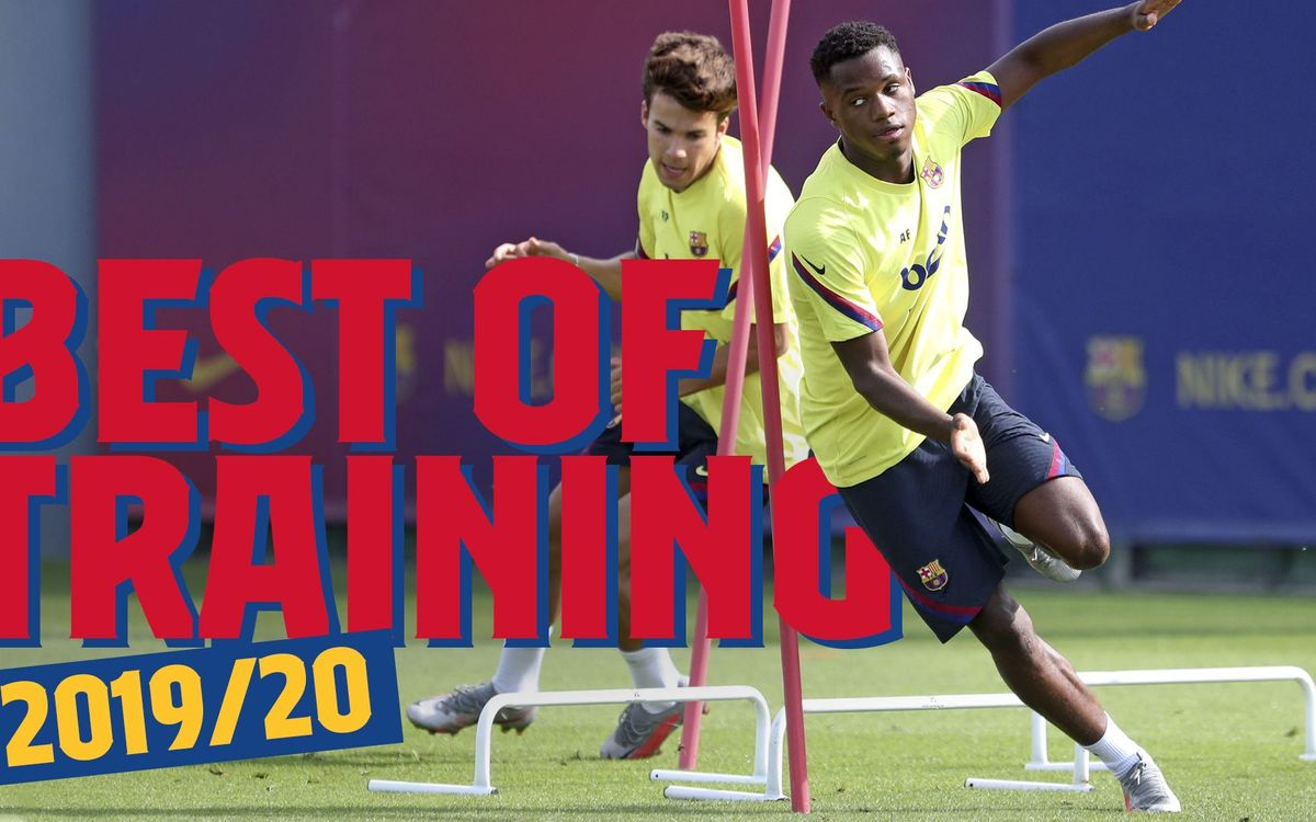 The best of Barça training in 2019/20