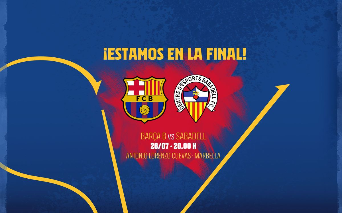 Barça B to play Sabadell for place in Segunda División