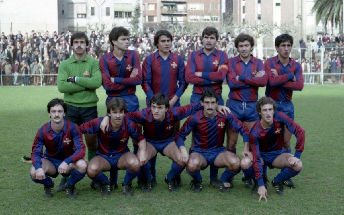 Una imatge de la temporada 81-82 | Horacio Seguí