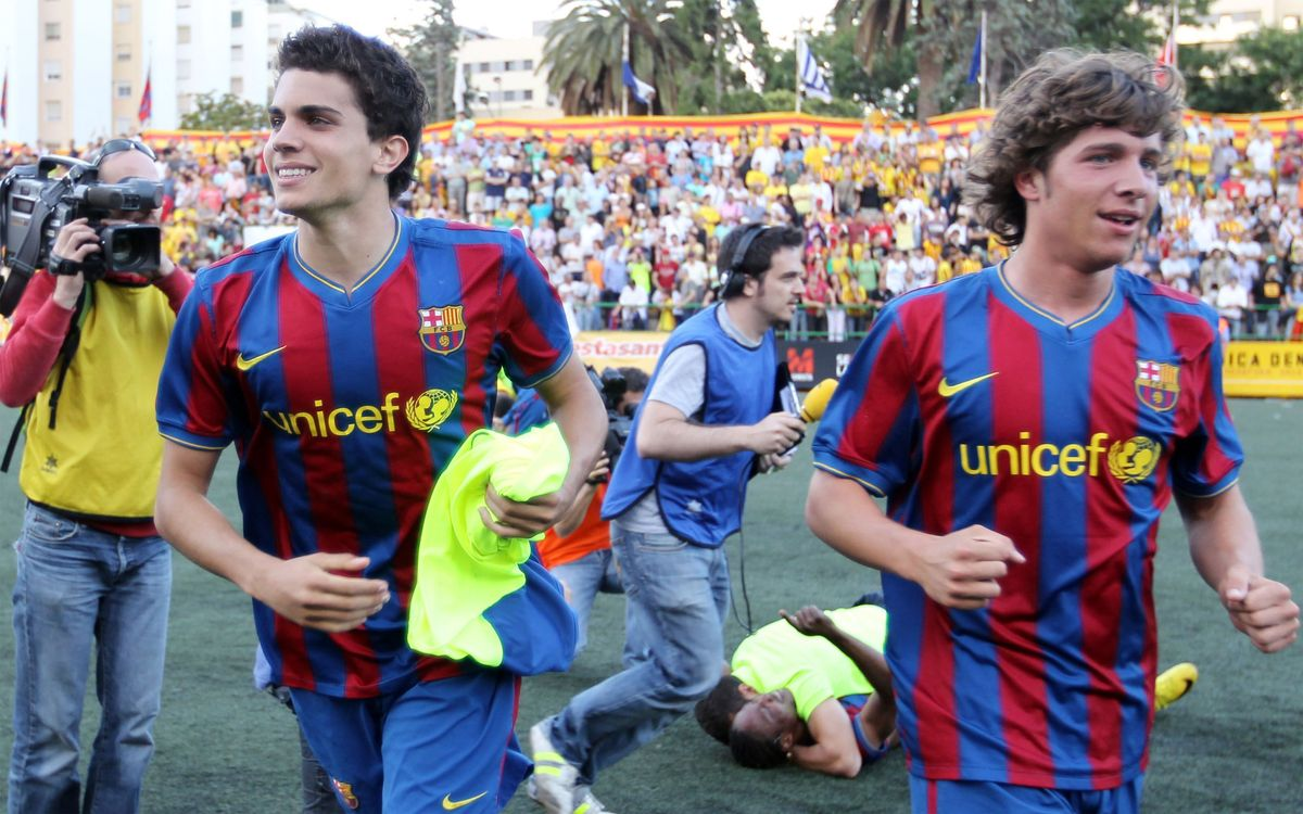 Els últims ascensos del Barça B, una font d'inspiració