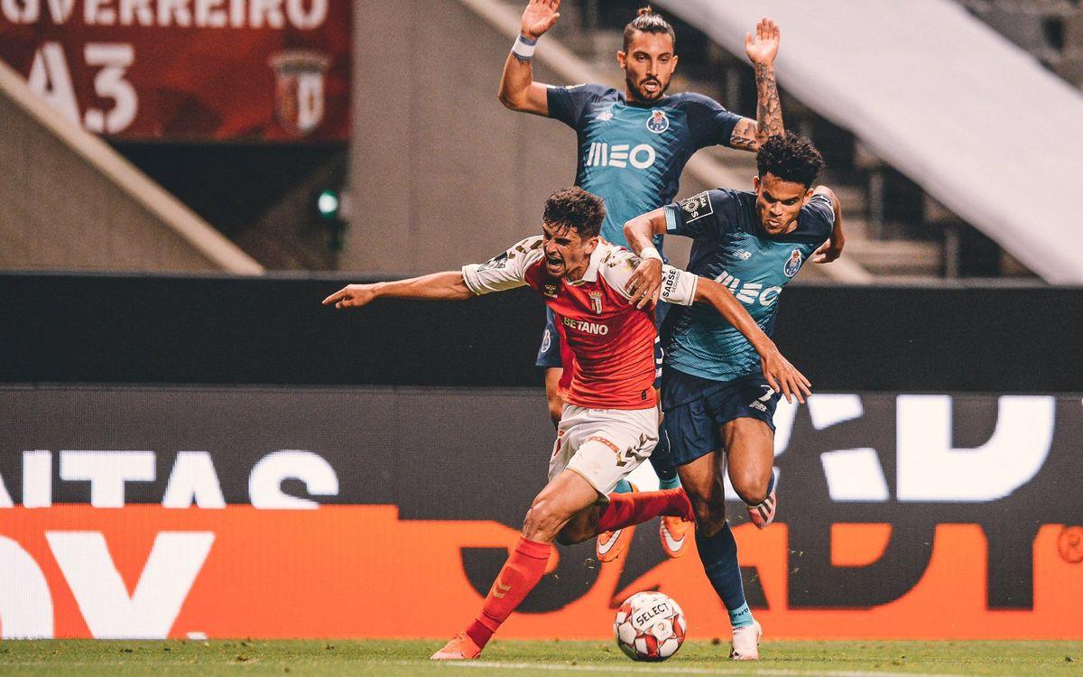 Trincão se despide del Braga con una buena actuación