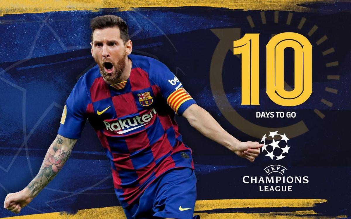 10 | Les buts de Messi contre les équipes italiennes au Camp Nou