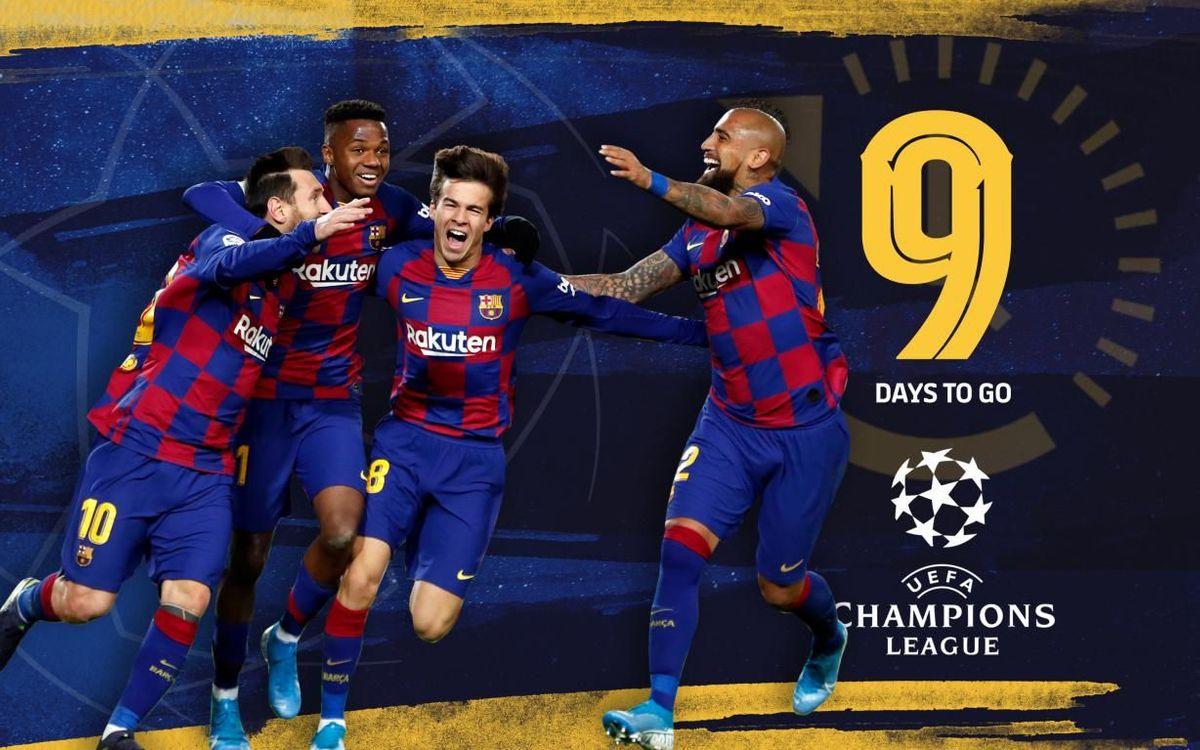 9 | Los rivales italianos del Barça en Europa