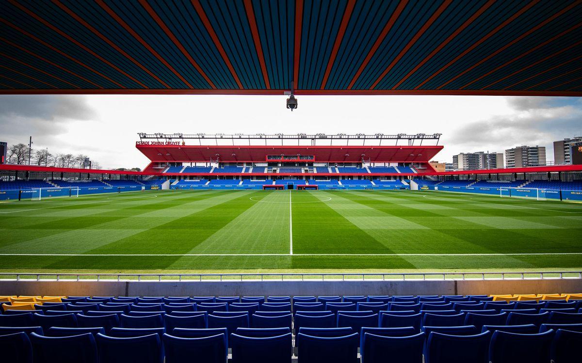 Anima el Barça Femení i el Barça B a l'Estadi Johan Cruyff