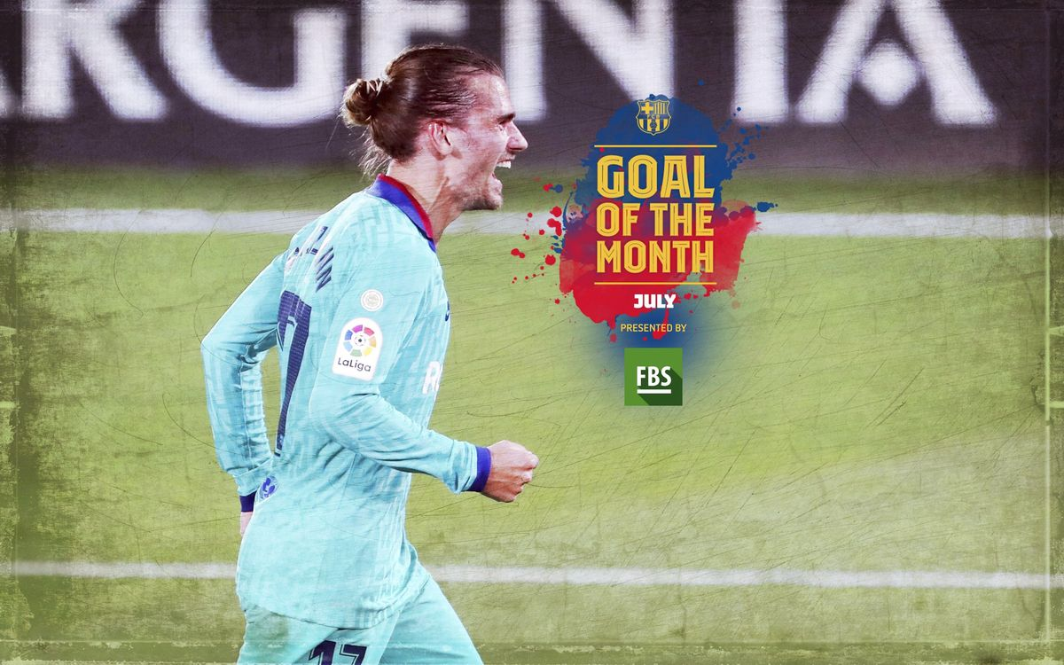 Griezmann wins July Goal of the Month