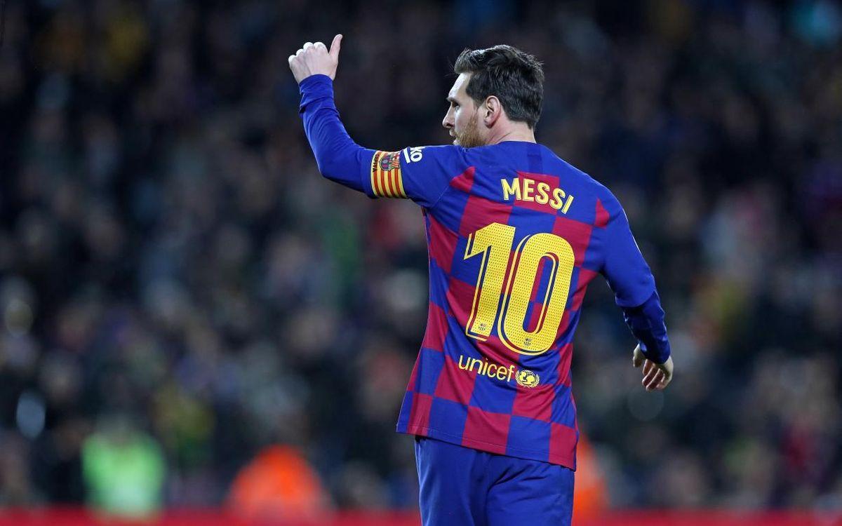 Leo Messi, best dribbler in La Liga