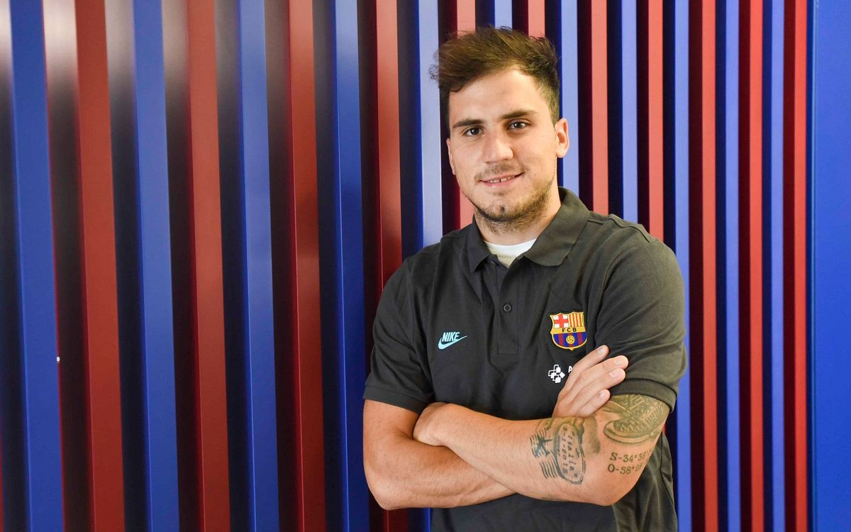 Mati Rosa, del Barça y cedido al Palma Futsal