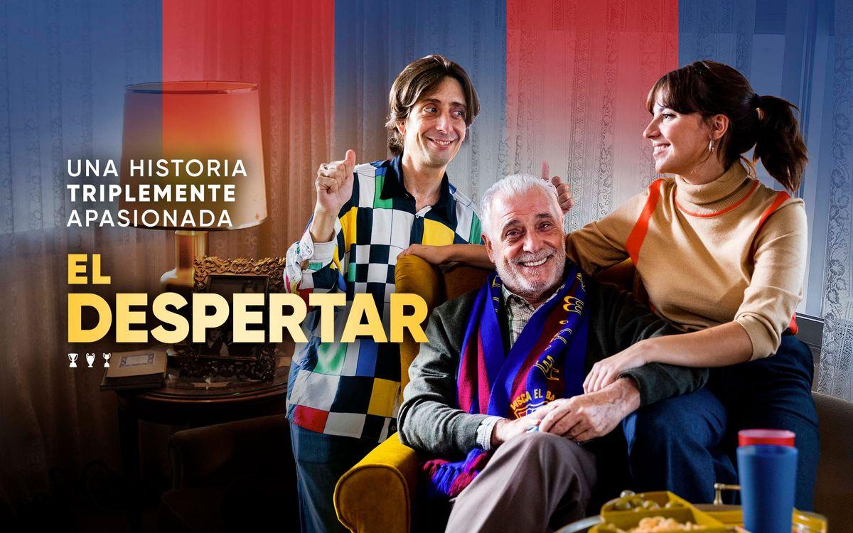 Barça Studios estrena la película 'El despertar', una historia  de sentimientos con el triplete de 2015 como telón de fondo