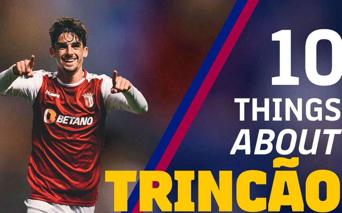 10 coses que cal saber sobre Francisco Trincão