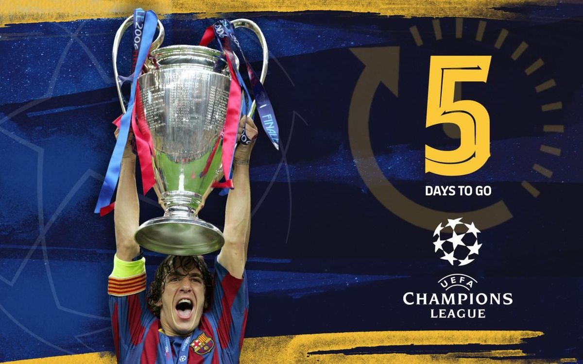 5 | Champions Leagues won by Barça