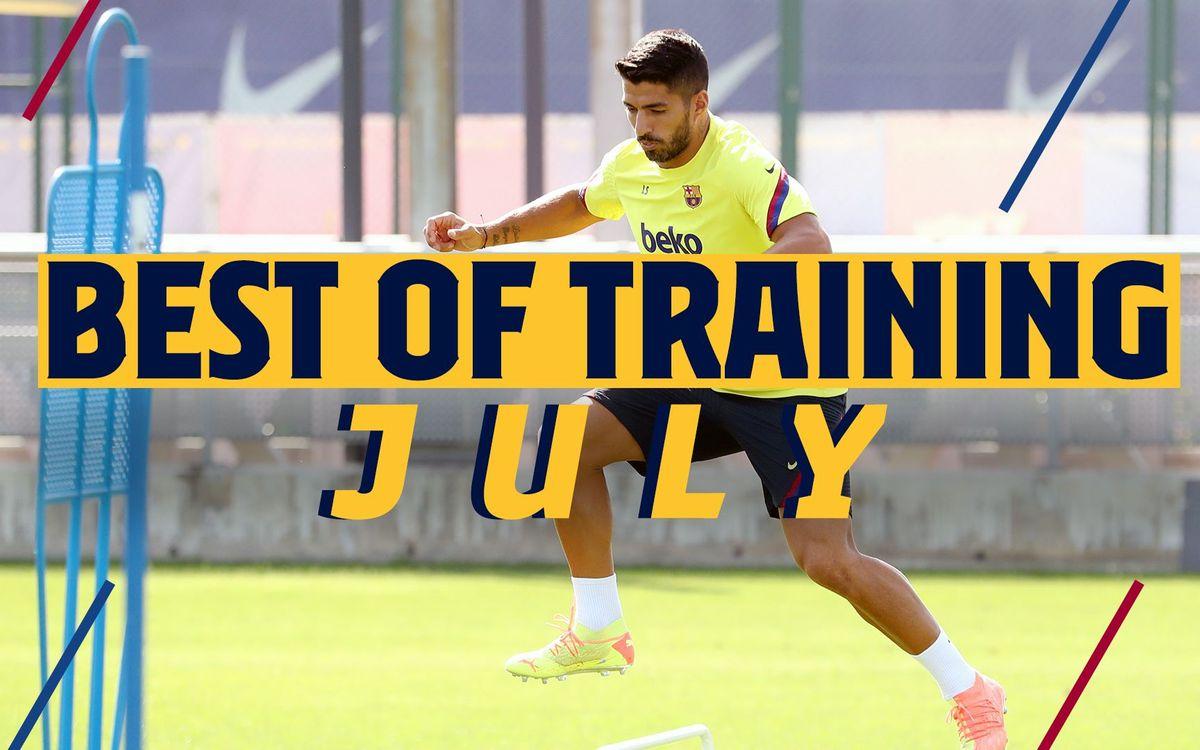 Le best-of des entraînements au mois de juillet