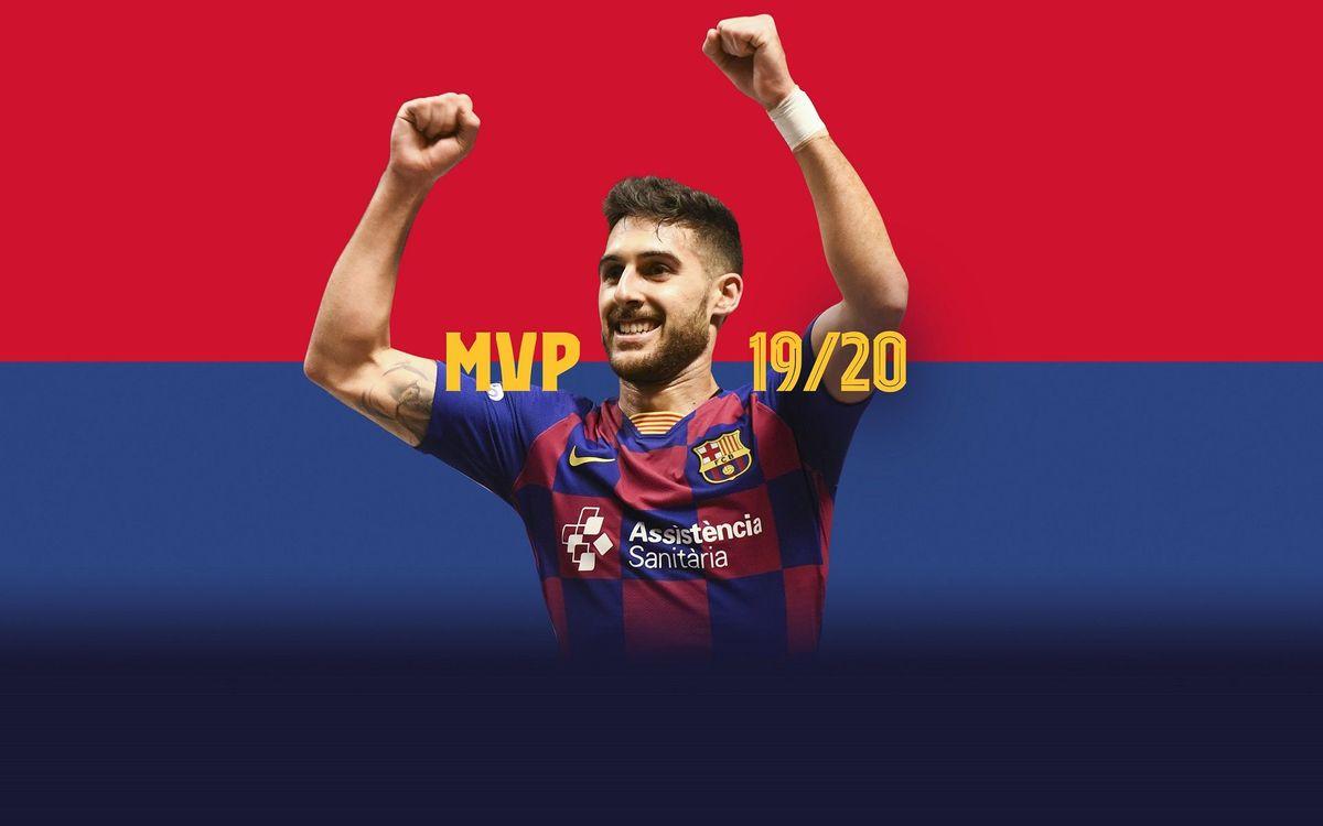 Adolfo, MVP de la lliga 2019/20