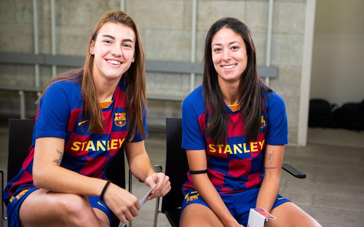 7 seconds challenge: Patri Guijarro y Leila Ouahabi
