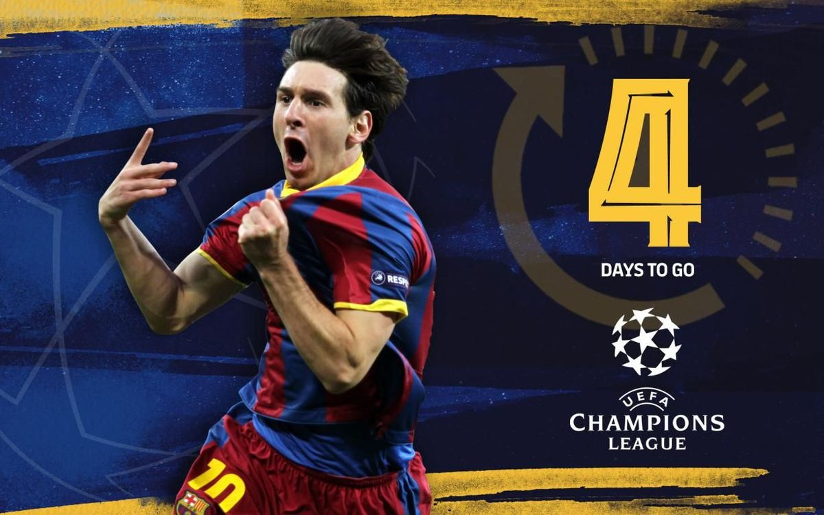4 | Champions Leagues won by Messi