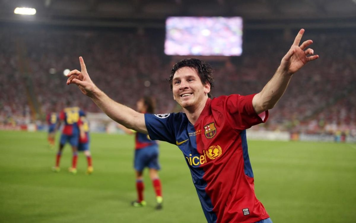 Leo Messi, king of the Champions League