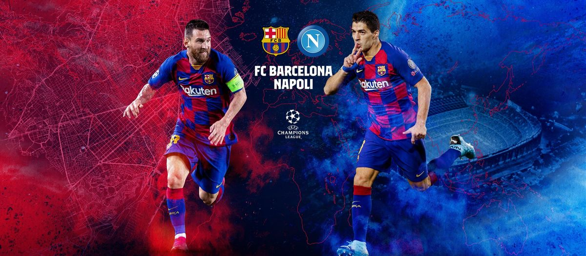 When and where to see FC Barcelona v Napoli