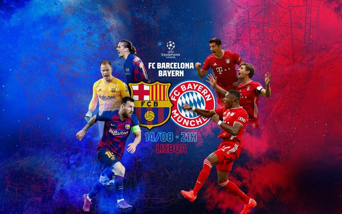 Le Bayern Munich, prochain rival du Barça en Ligue des Champions