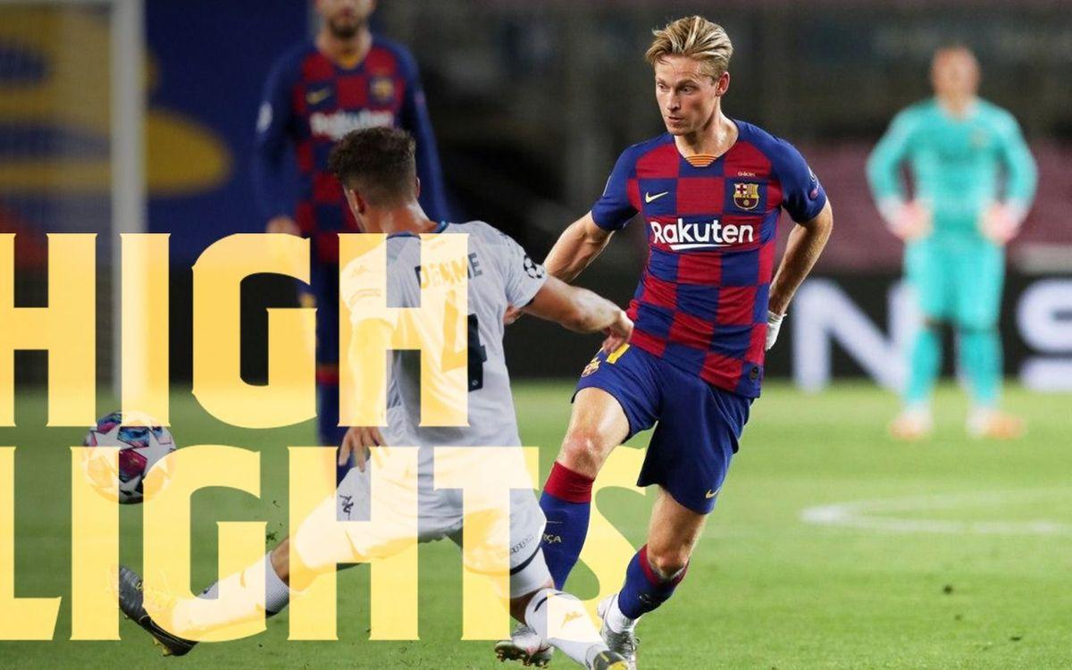 Les moments forts de Barça - Naples (3-1)