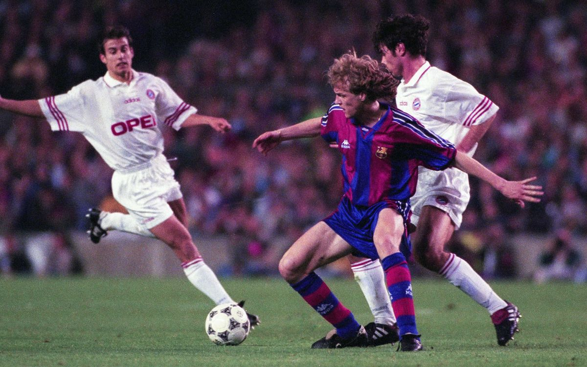 Jordi Cruyff, en action
