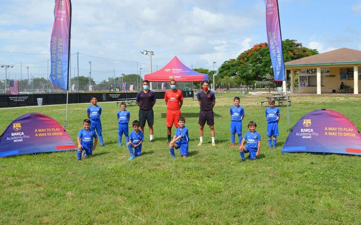 La Barça Academy PRO Miami abre sus puertas