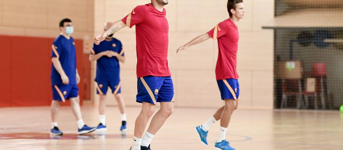 Arrenca la pretemporada del Barça B