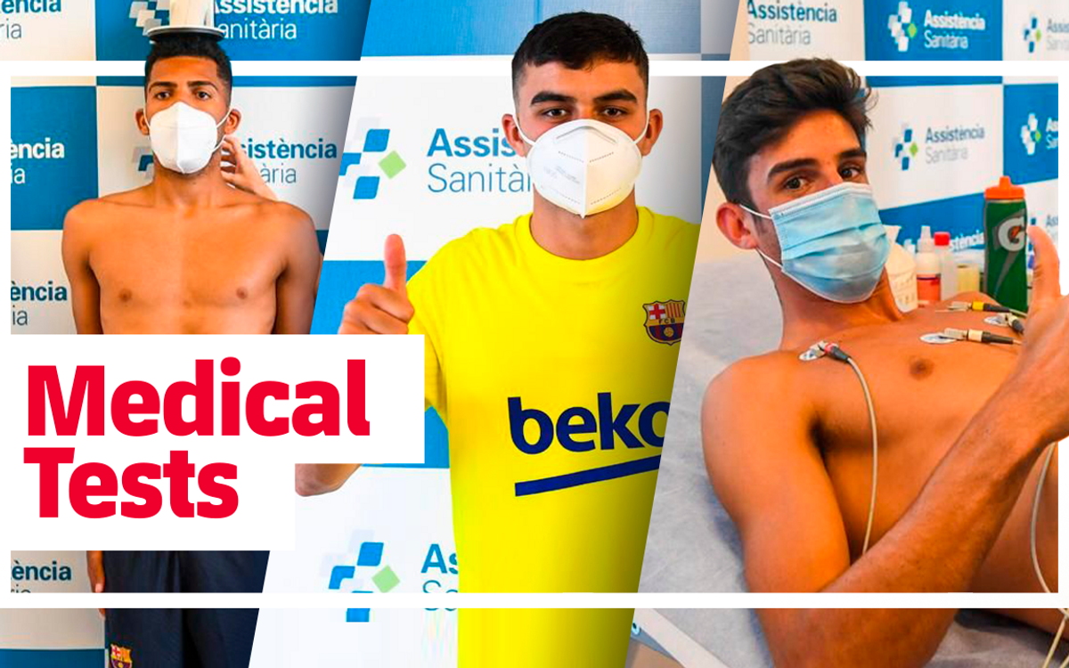MEDICAL TESTS Trincao Pedri ENG