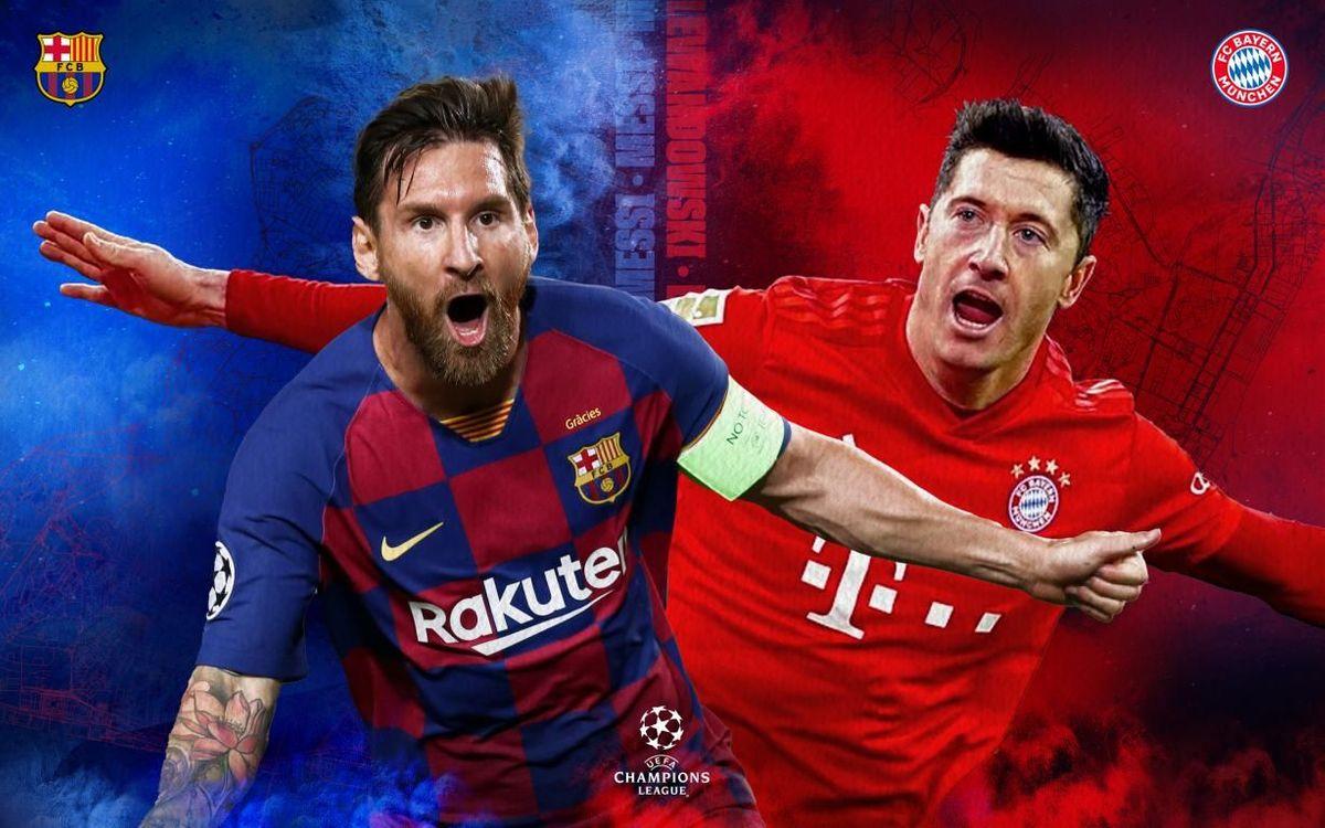 プレビュー | FC バルセロナ vs バイエルン・ミュンヘン