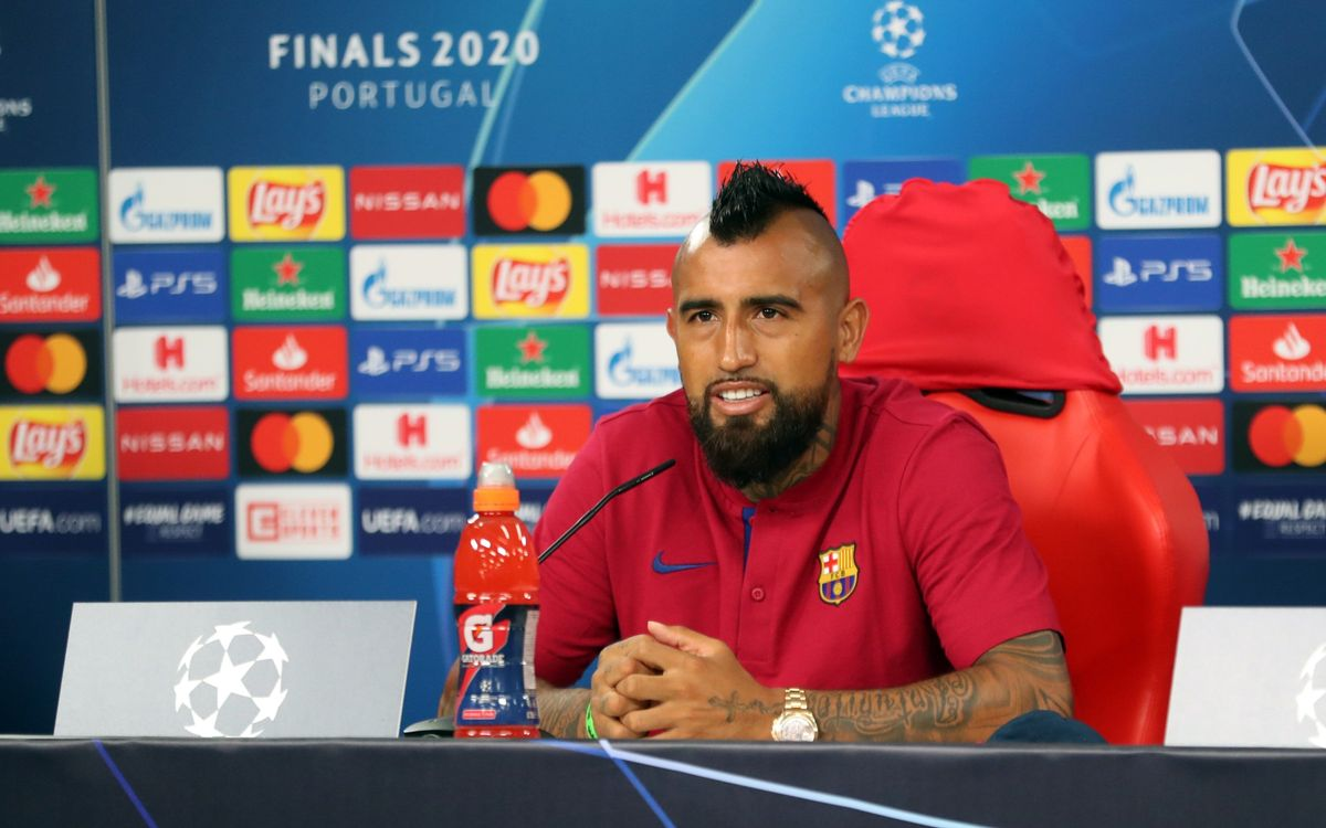 Vidal: 'Bayern are always favourites but we are Barça, the best team in the world'