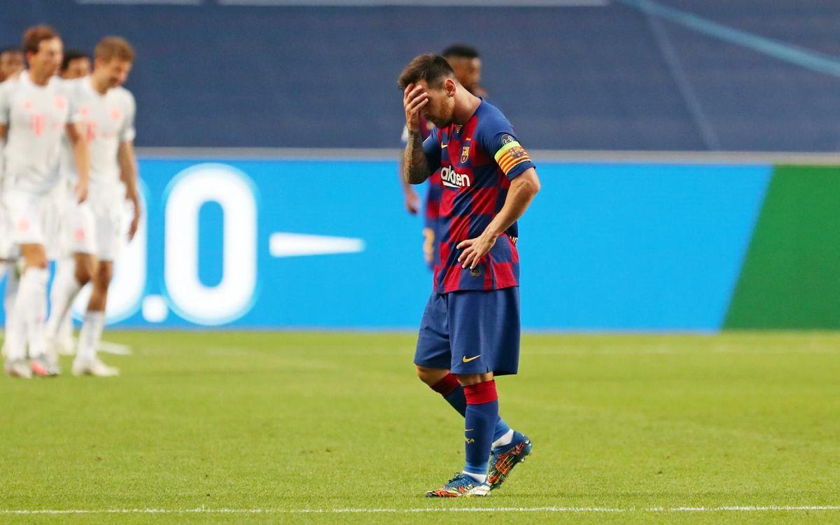 FC Barcelona - Bayern: Doloroso adiós a Europa (2-8)
