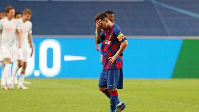 Barça - Bayern Munchen (2-8)