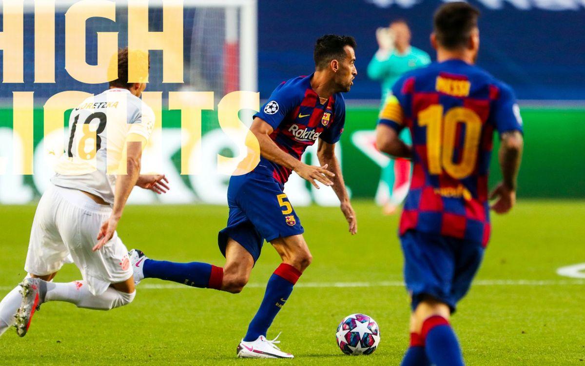 Le résumé de Barça - Bayern, en vidéo