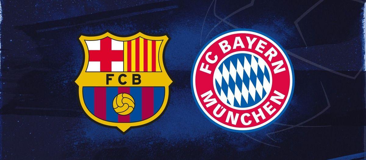 La alineación del FC Barcelona - Bayern Múnich