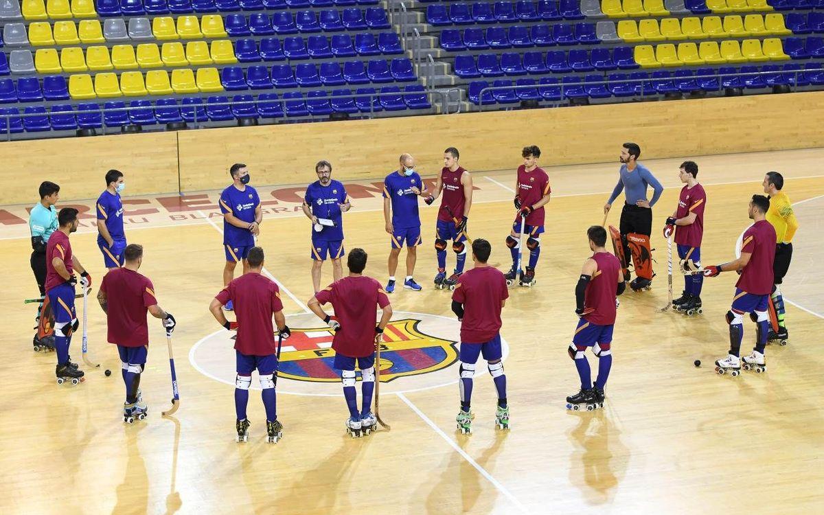 El Barça de hockey continuará la preparación en Encamp