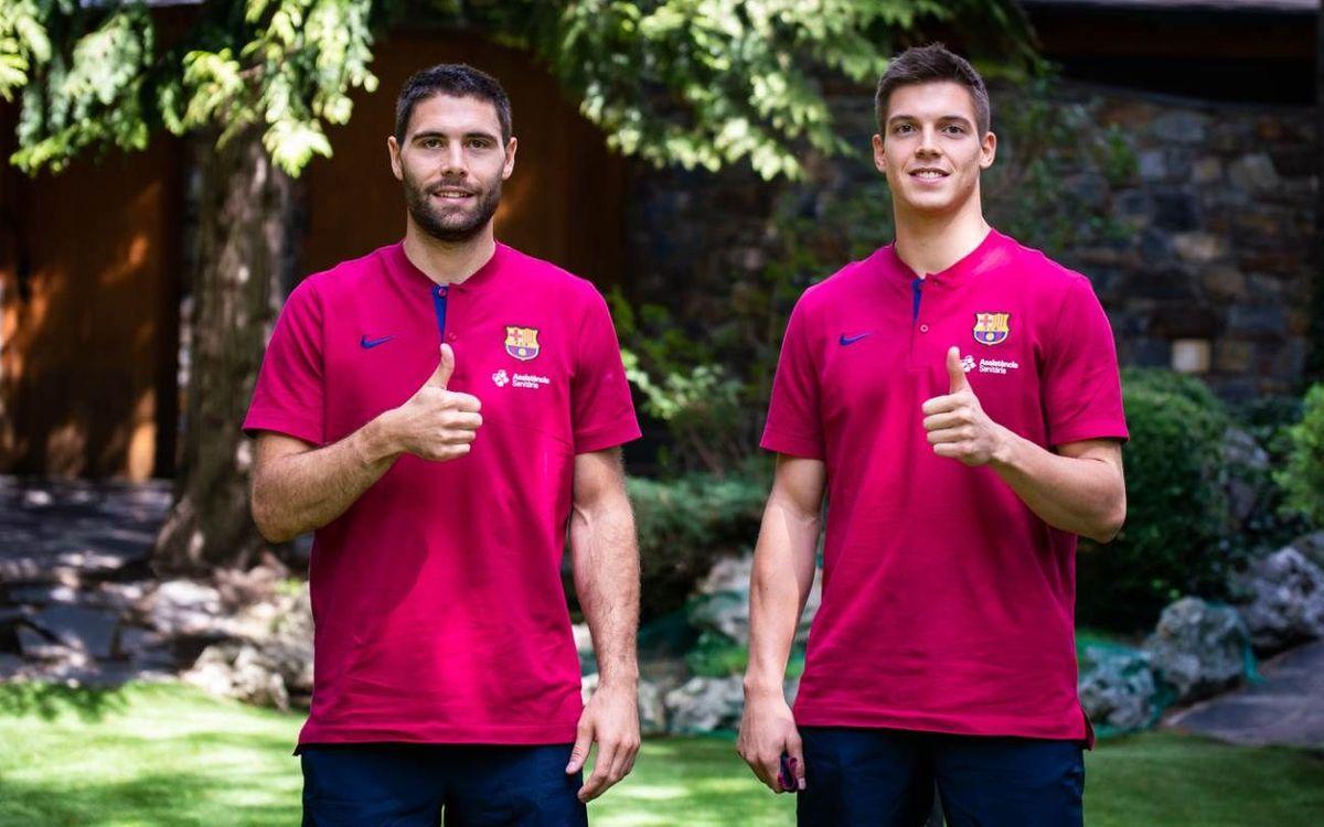 Talento esloveno para el Barça