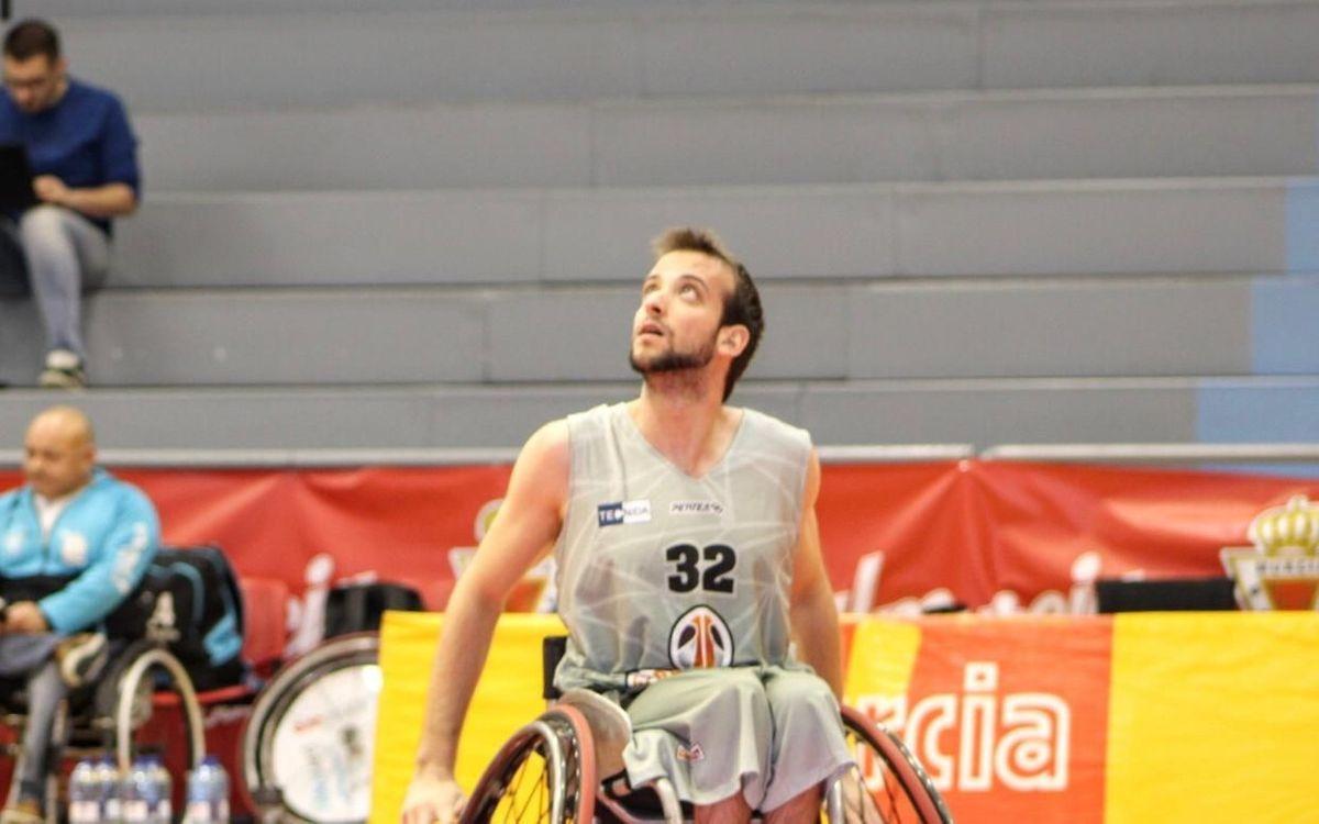 Pablo Cubo, segundo refuerzo del baloncesto en silla de ruedas