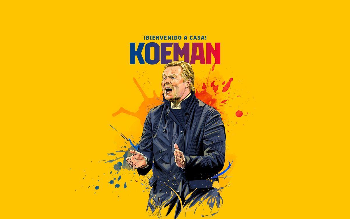 Ronald Koeman, nuevo entrenador del FC Barcelona
