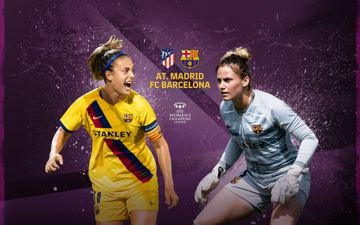 Want to watch Atletico v Barça in the UWCL on Barça TV+?