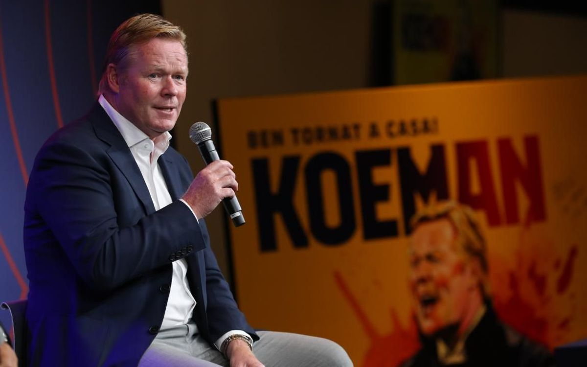 Koeman: 'The first thing I will say to the players is football is to be enjoyed'