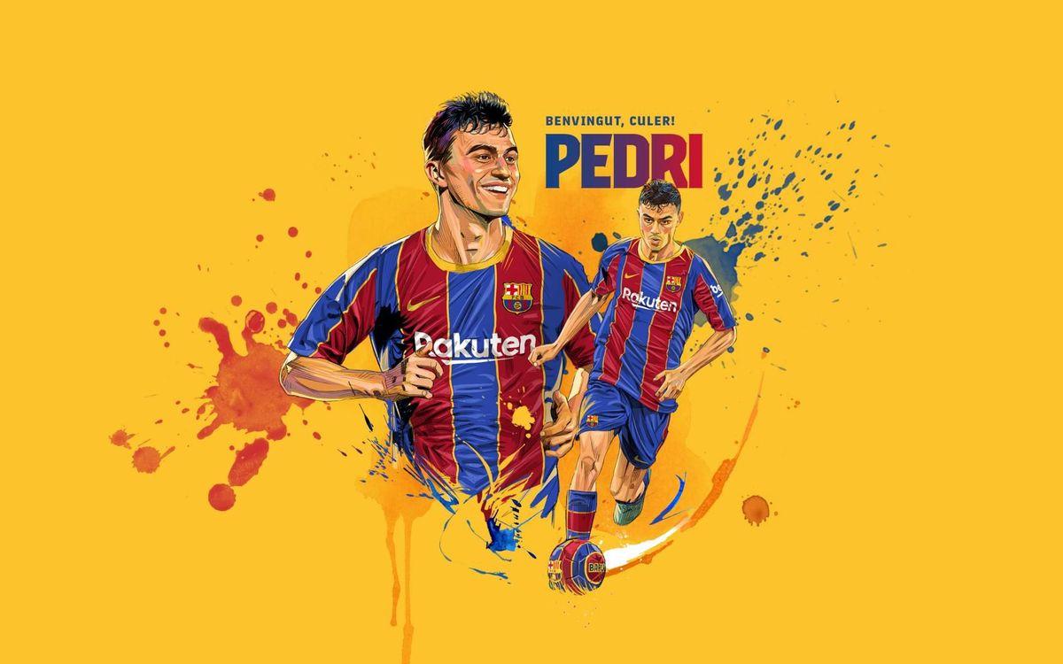 Pedri présenté jeudi au Camp Nou